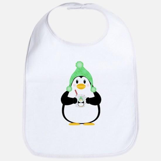Penguin with Hot Cocoa Bib