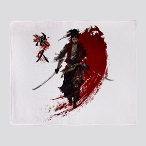 Ronin Throw Blanket