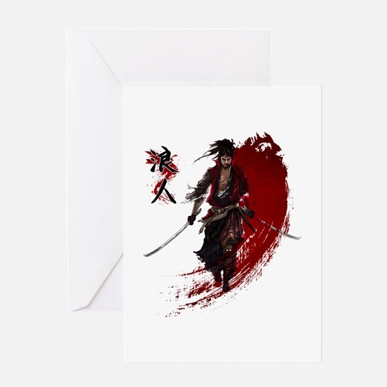 Ronin Greeting Cards