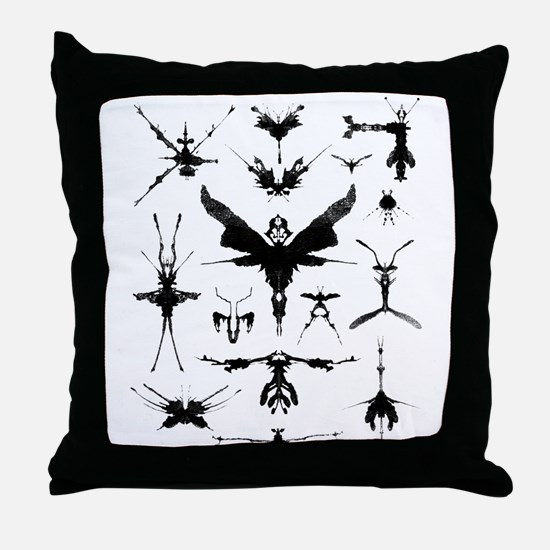 Unique Mysterious Throw Pillow
