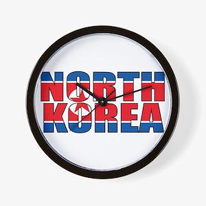 North Korea Wall Clock