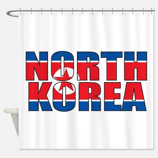 North Korea Shower Curtain