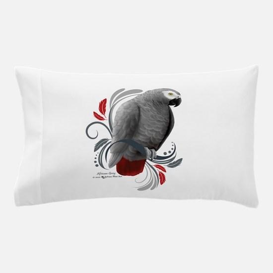 African Grey Pillow Case