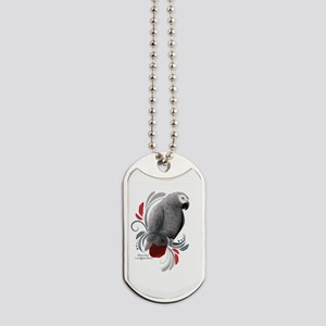 African Grey Dog Tags