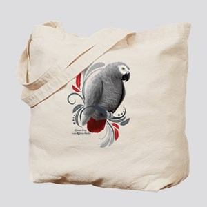 African Grey Tote Bag