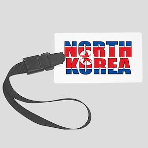North Korea Large Luggage Tag