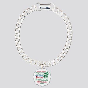Griswold Blessing Charm Bracelet, One Charm