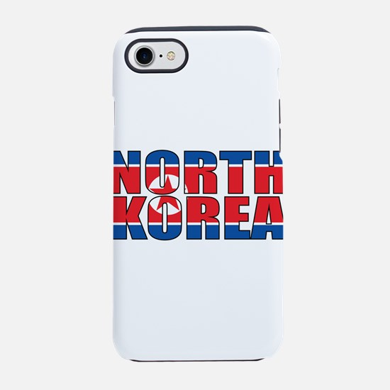 North Korea iPhone 8/7 Tough Case