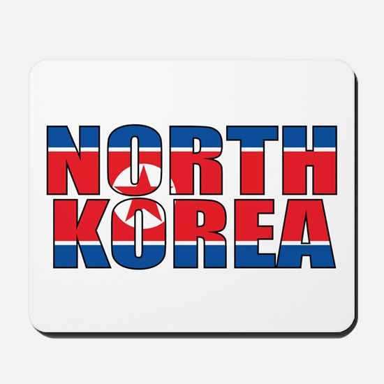 North Korea Mousepad