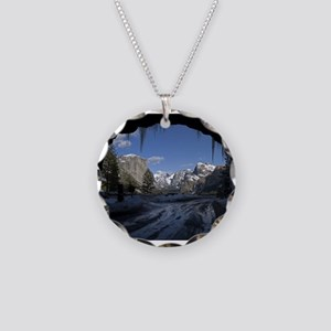Yosemite's famous Tunnel Vie Necklace Circle Charm