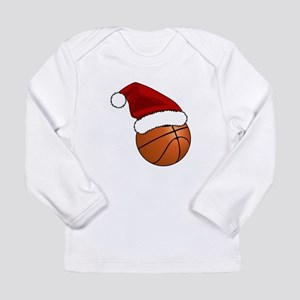 Christmas Basketball Long Sleeve T-Shirt