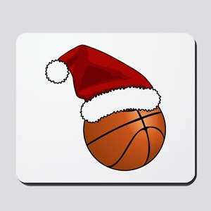 Christmas Basketball Mousepad