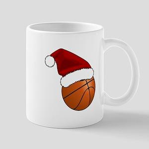 Christmas Basketball Mugs