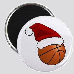 Christmas Basketball Magnets