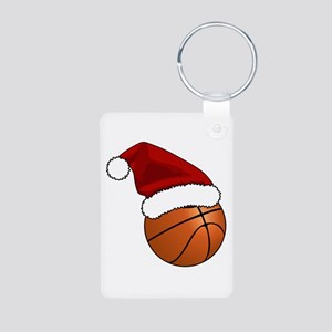 Christmas Basketball Keychains