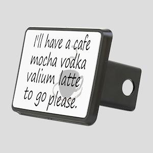 lattehumor Rectangular Hitch Cover