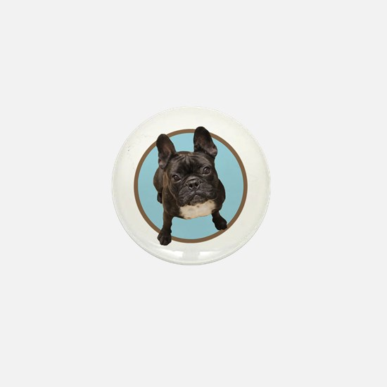 French bull dogs Mini Button