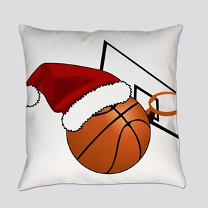 Christmas Basketball Everyday Pillow