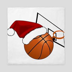 Christmas Basketball Queen Duvet