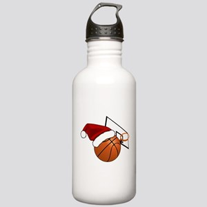 Christmas Basketball Stainless Water Bottle 1.0L