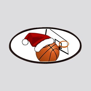 Christmas Basketball Patch