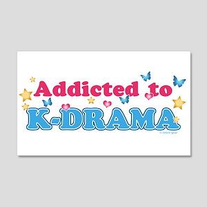 Addicted to K-Drama 20x12 Wall Decal