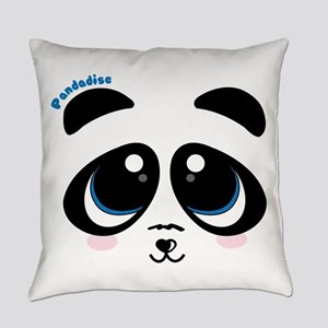 Pandadise Everyday Pillow