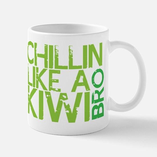 Chillin like a KIWI Bro Mugs