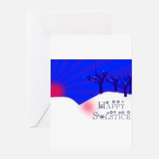 Cute Solstice Greeting Card