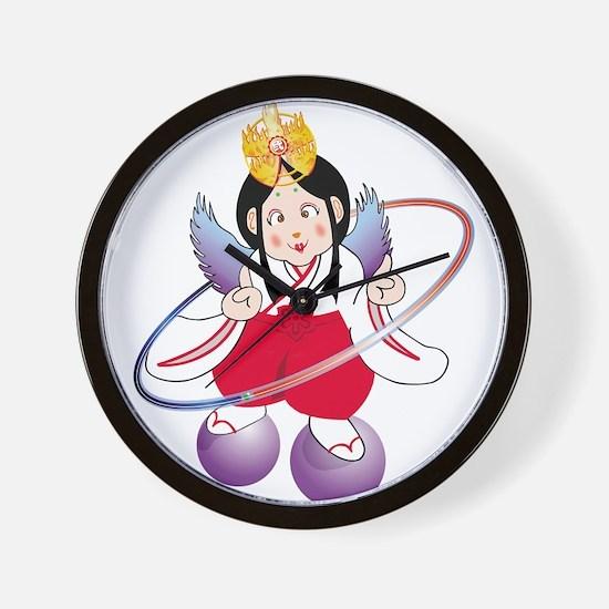 Shaaman Kyoko Wall Clock
