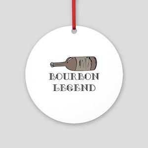 BOURBON LEGEND Ornament (Round)