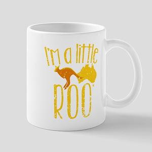 I'm a little Roo KANGAROO JOEY cute (distress Mugs