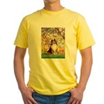 Spring / Sheltie (#1) Yellow T-Shirt