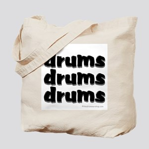 drums drums drums : Tote Bag