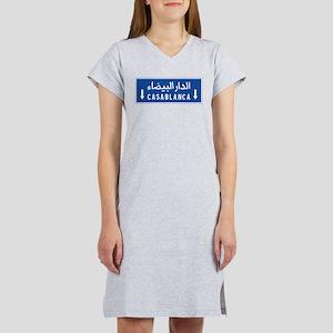 Casablanca, Morocco Women's Nightshirt
