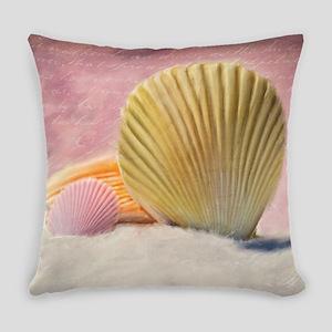 Vintage Shells Everyday Pillow