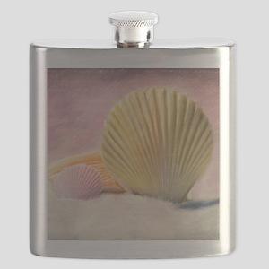 Vintage Shells Flask