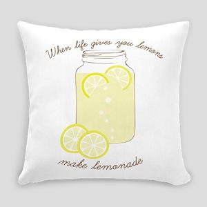 Make Lemonade Everyday Pillow