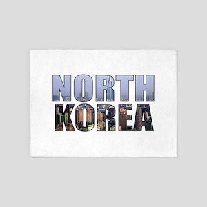 North Korea 5'x7'Area Rug