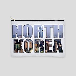 North Korea Makeup Bag