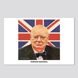 WINSTON CHURCHILL Postcards (Package of 8)