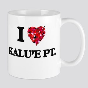 I love Kalu'E Pt. Hawaii Mugs