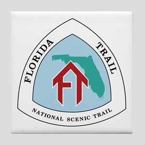 Florida National Trail Tile Coaster
