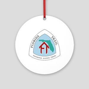 Florida National Trail Round Ornament