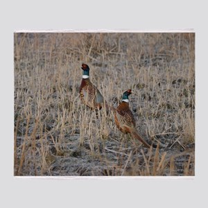 Pheasants Throw Blanket