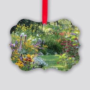 Where 3 Gardens Meet Picture Ornament