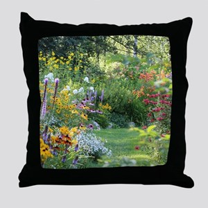 Where 3 Gardens Meet Throw Pillow