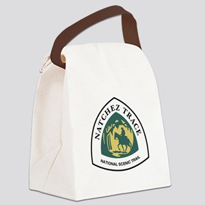 Natchez Trace National Trail, Mis Canvas Lunch Bag
