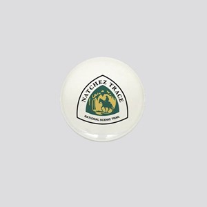 Natchez Trace National Trail, Mississi Mini Button