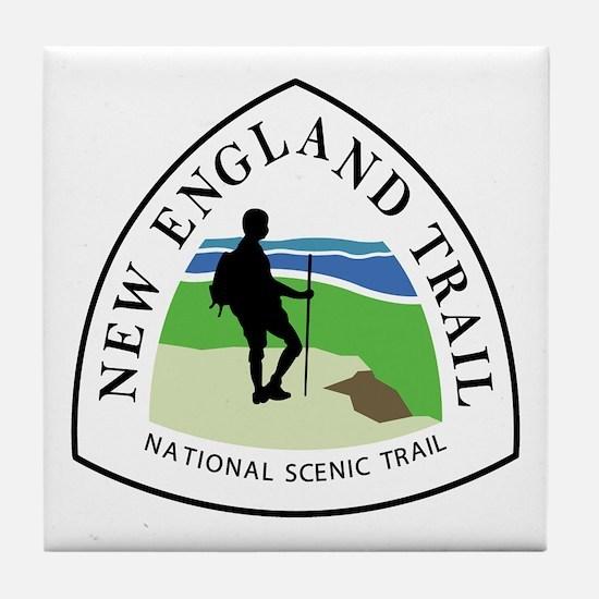 New England National Trail Tile Coaster